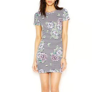 French connection floral bodycon